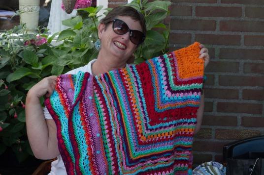 Janna op het haakfeest