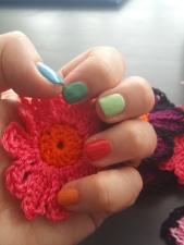 Matching nails