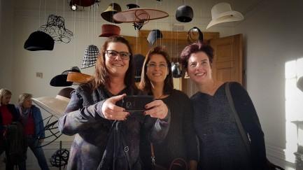 Met Daniëlle en Yvonne in de tassen ruimte